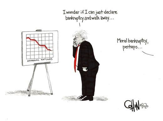 David Cohen editorial cartoon