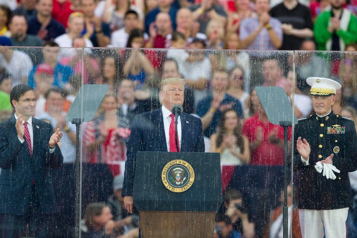 Trump will host a scaled-back July 4th party at White House as coronavirus cases spike