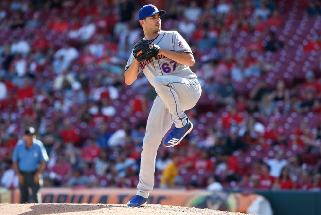 Mets pitcher Seth Lugo is locked in on baseball's return and said he will not play in fear during COVID-19 threat. Gary Landers/AP