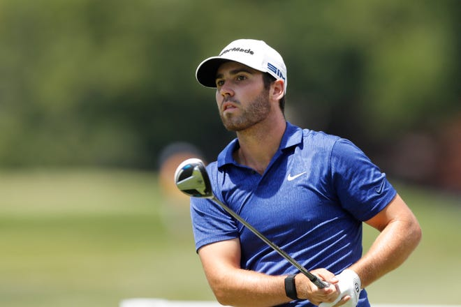 Matthew Wolff is 18 holes away from winning his second PGA Tour event. The 21-year-old fired a 8-under-par 64 to gain the third-round lead.  Carlos Osorio/AP