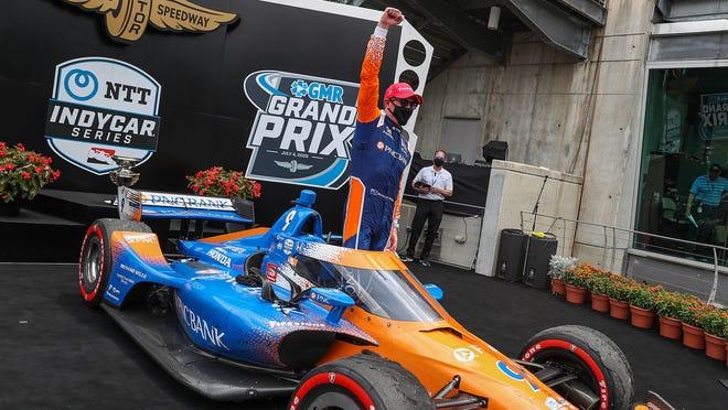Scott Dixon dominant again, grabbing his second win of the IndyCar season  at IMS