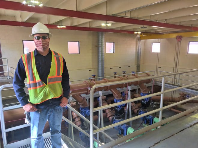 Las Cruces Utilities Wastewater Crew Leader Jake Holes has worked his way up to get the training he needs to be a part of the team cleaning the city's wastewater. LCU is looking for willing workers who can be certified to fill open positions.