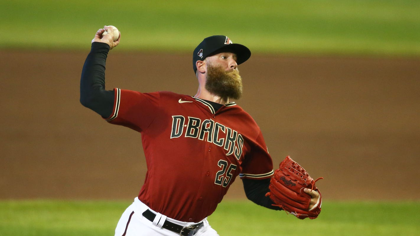 Diamondbacks pitcher Archie Bradley says family is 'lucky' after COVID-19 scare