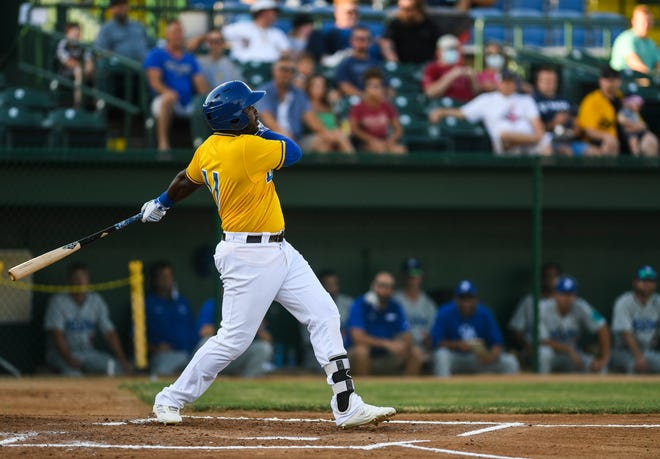 With 21 home runs and a .451 on-base percentage, Jabari Henry was one of the bright spots for the Canaries this summer.