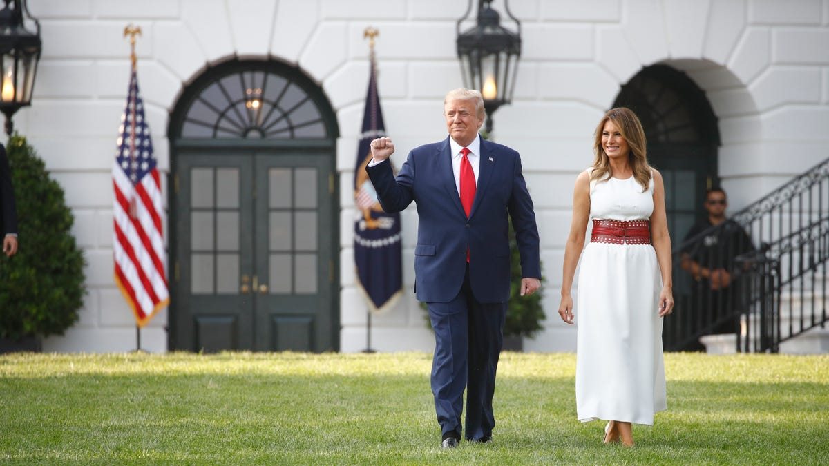 President Donald Trump hosts Independence Day celebration at White House