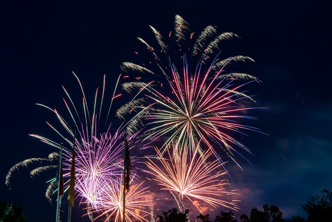 The Asheville Fire Department is asking residents to leave the firework shows to the professionals.