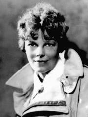 In this 1932, file photo is aviator Amelia Earhart.