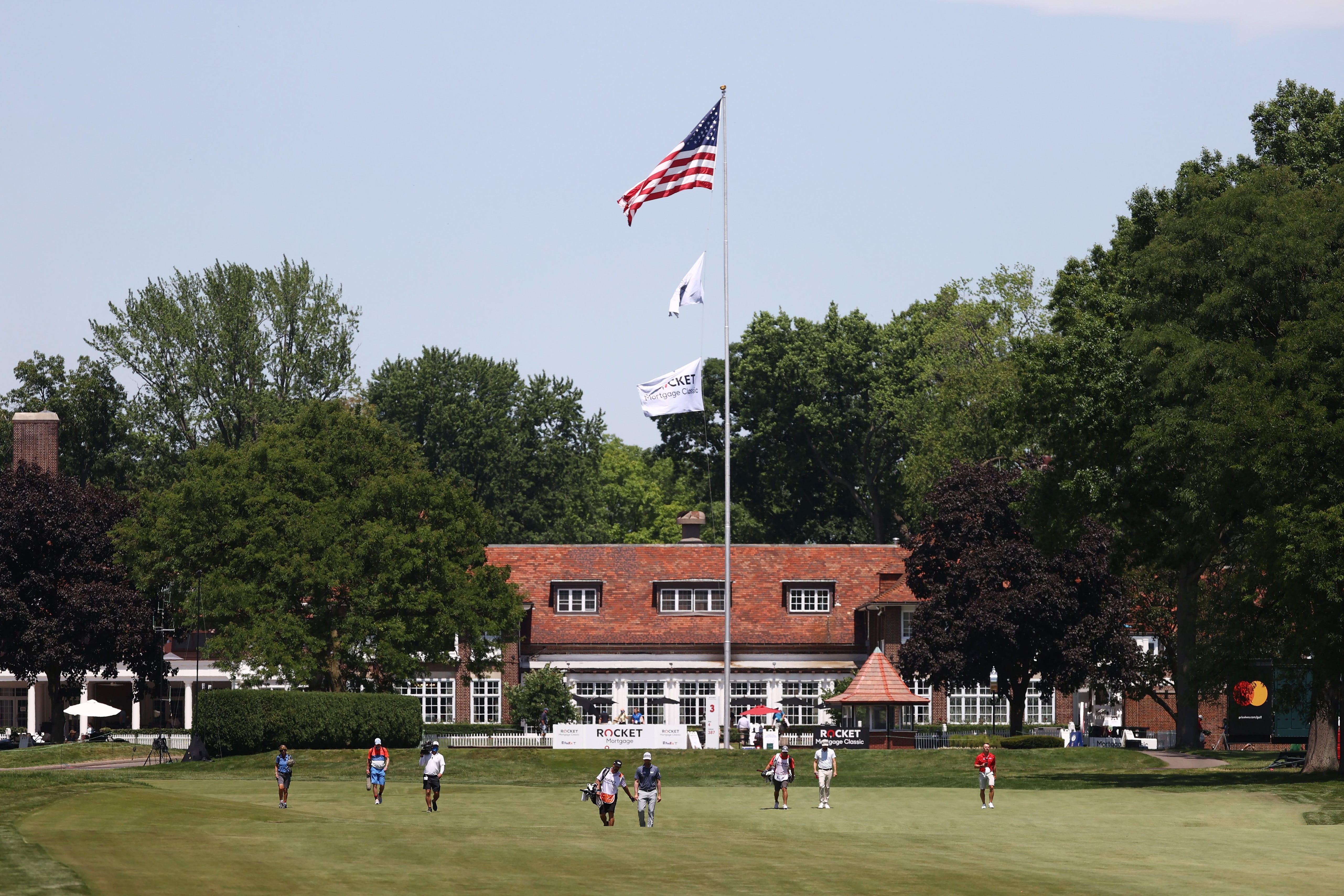 detroitnews.com - Tony Paul, The Detroit News - Rocket Mortgage Classic will be remembered as a/u00a0'lonely' experience