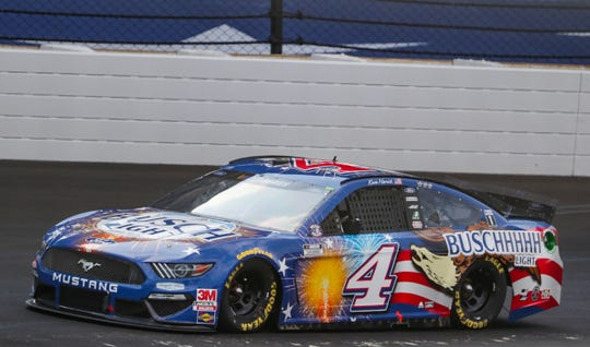 Doyel: After chaos in the Brickyard 400 pits, a wife waits for a phone call in North Carolina