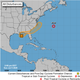 The National Hurricane Center is monitoring a small low pressure area off the southeast Louisiana coast. While it only has a low 20% chance for development in the northeastern Gulf of Mexico today and tomorrow, the threat increases to a medium 40% chance off the southeast US coast later this week.