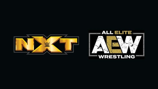 NXT and AEW logos