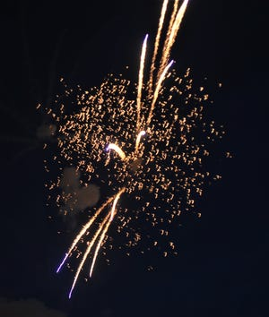 Jaycees held its annual Stars & Stripes Fireworks Show on Saturday, July 4.