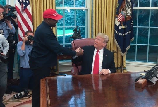 Celebrity Health: President Donald Trump and Rapper Kanye West in 2018