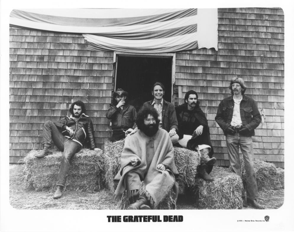 Grateful Dead celebrate American Beauty 50th anniversary with new deluxe set
