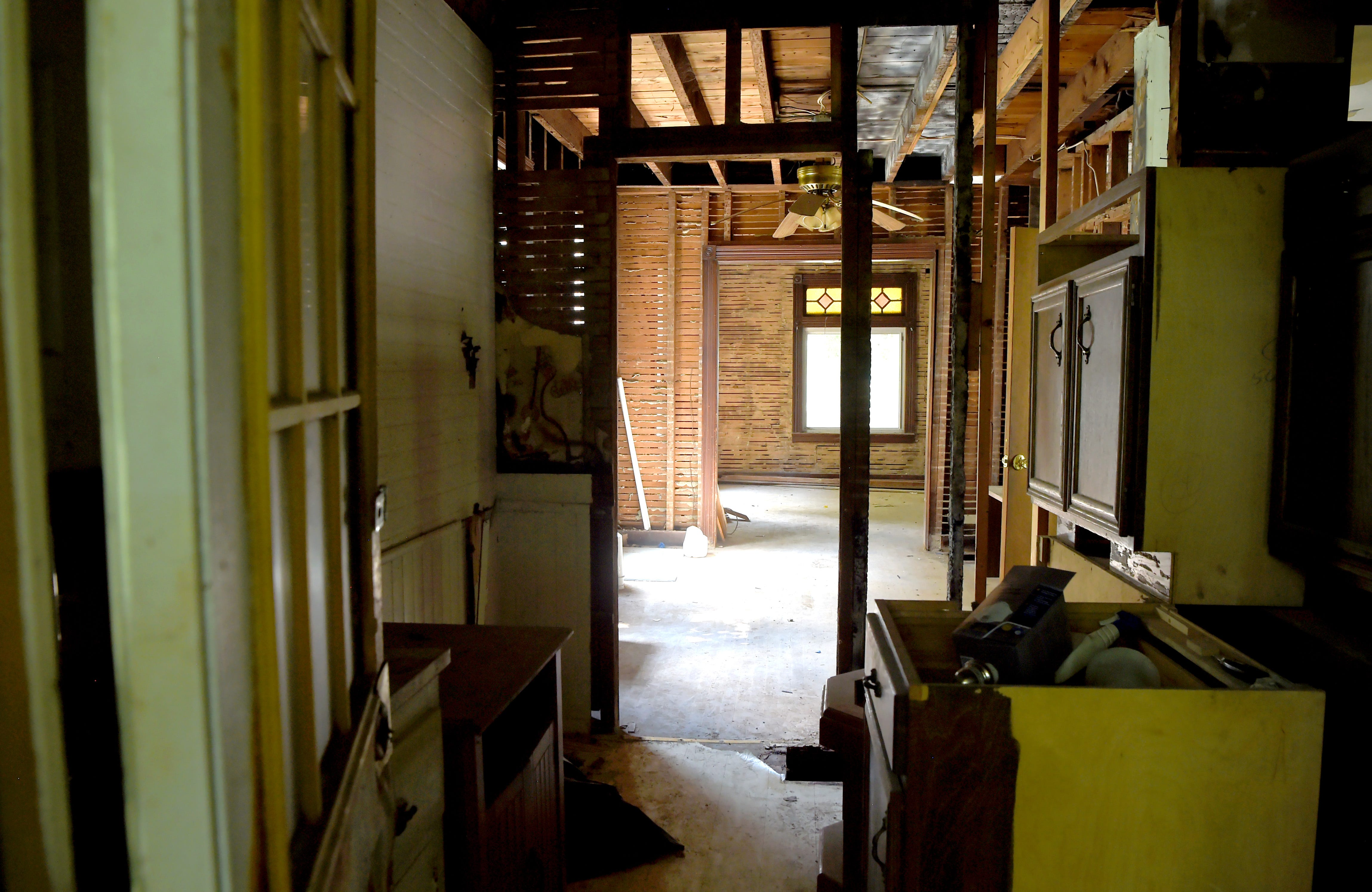 Inside 6 1/2 Sturges St. in Binghamton on July 2, 2020, where Cheri Lindsey was murdered in 1984. Cheri, a 12-year-old East Middle School student, was murdered while delivering newspapers.