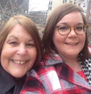 Claudia Boughman, left, and her daughter Jessica Celesnik.