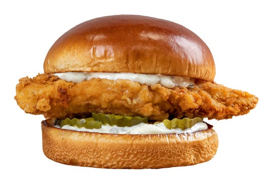 Big Boy's new Dolly Chicken Sandwich,