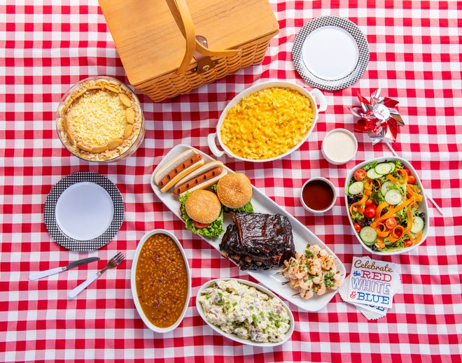 The Table 301 Summer Backyard Grilling Meals to go.