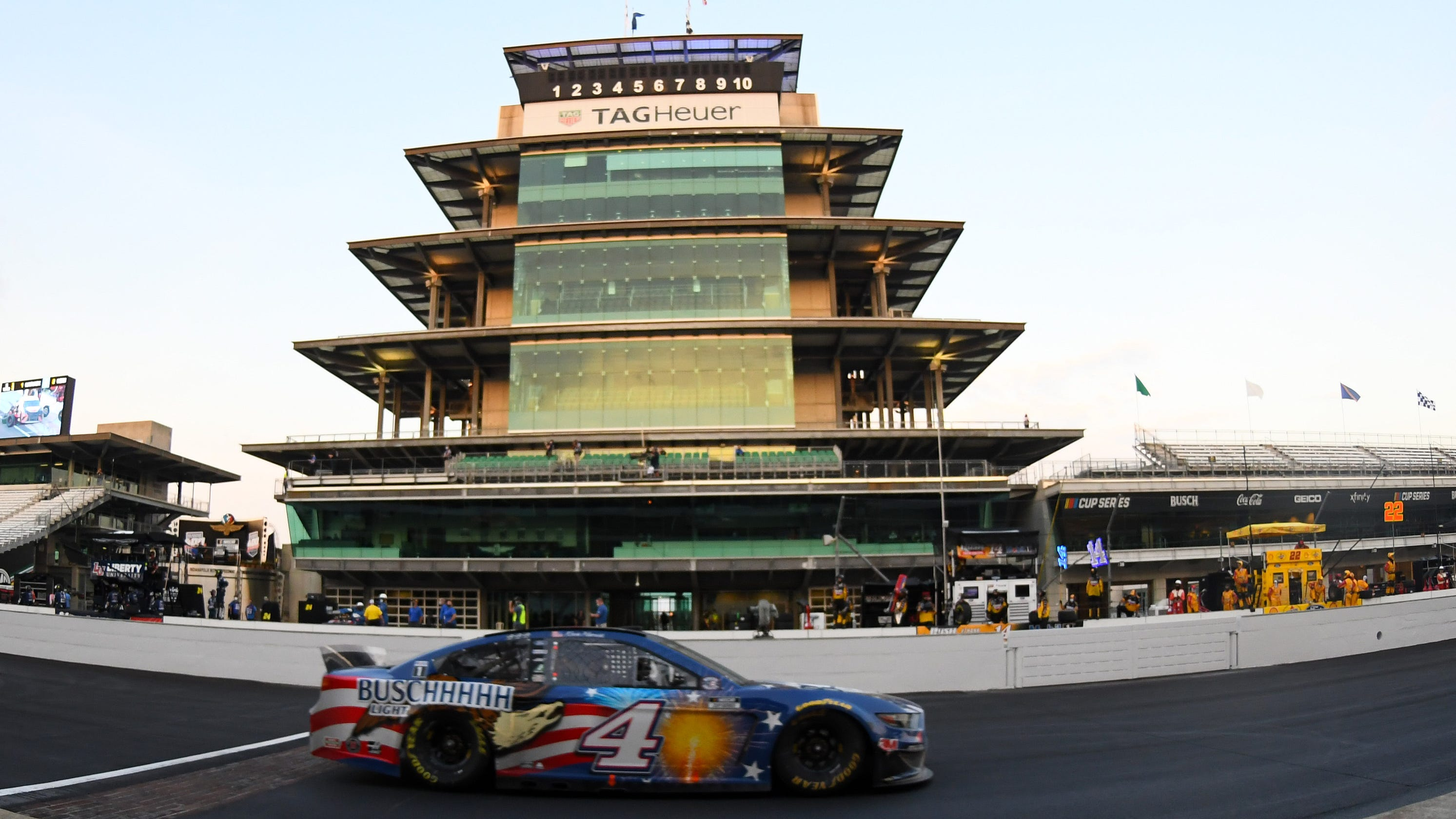 NASCAR, IMS move Brickyard 400 onto speedway's road course in 2021 for first time