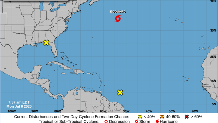 The National Hurricane Center is watching three systems, including one that may develop into a tropical system in the Gulf of Mexico later this week.