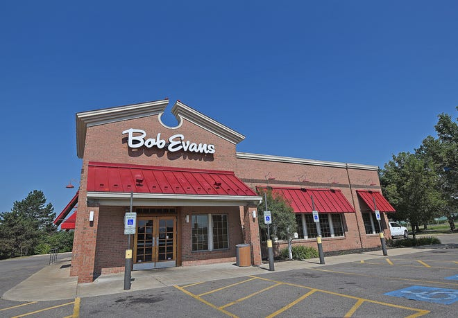 Bob Evans Restaurant on Trimble Road in Mansfield.