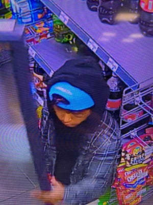 Salem detectives are asking for the public's help in identifying a suspect involved in a convenience store theft and a string of robberies.