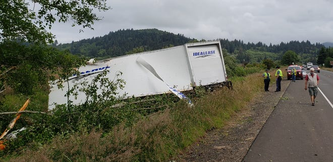 Christopher Parks, 31, of Portland, died after the truck he was driving struck a tree on Highway 101 near Pacific City on Saturday, July 4, 2020.