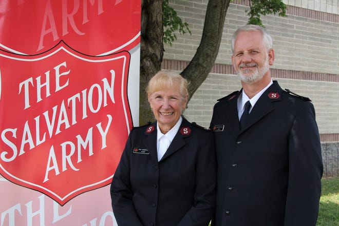 The Salvation Army in Springfield welcomed its new leaders, Majors Jon and Kris Augenstein, on Monday.