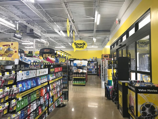 Dollar General on the corner of North Central and Churchville avenues in Staunton, Virginia, on Monday, July 6, 2020.