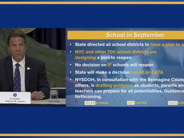 Decision expected soon on whether schools can reopen in New York