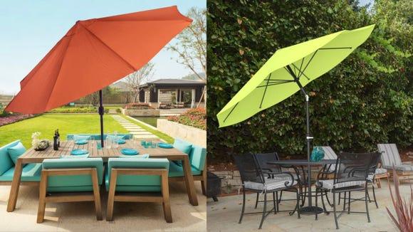 This big umbrella brings some serious shade.