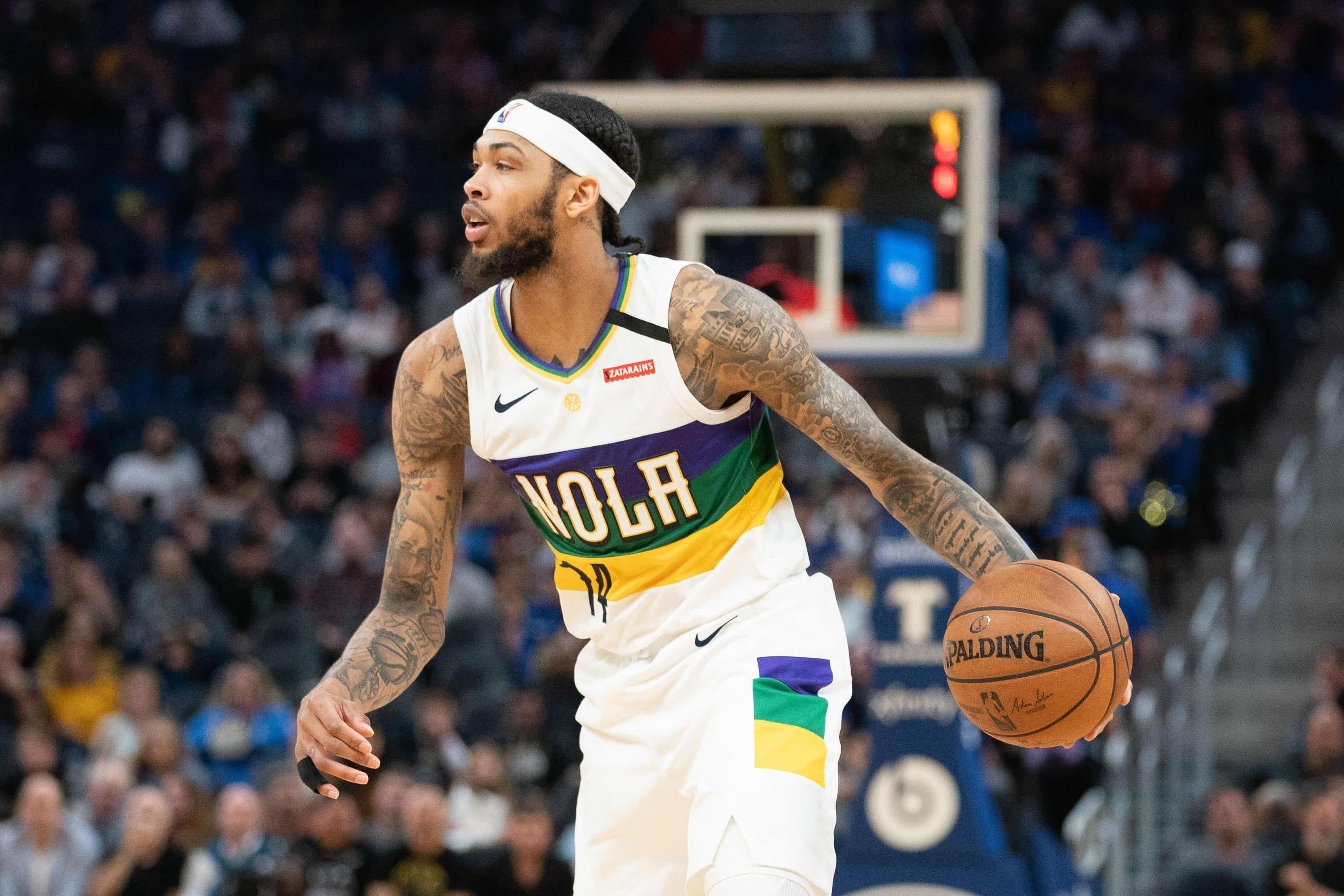 Pelicans' Brandon Ingram on resuming play: 'I feel like I'm immune'