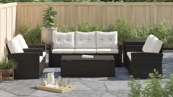 All your outdoor seating needs in one package.