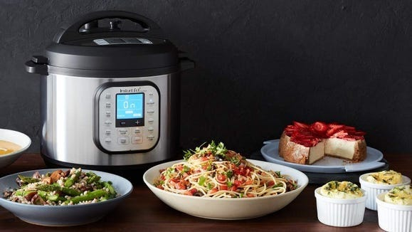 If you haven't snagged an Instant Pot yet, now's your chance to step up your kitchen game.