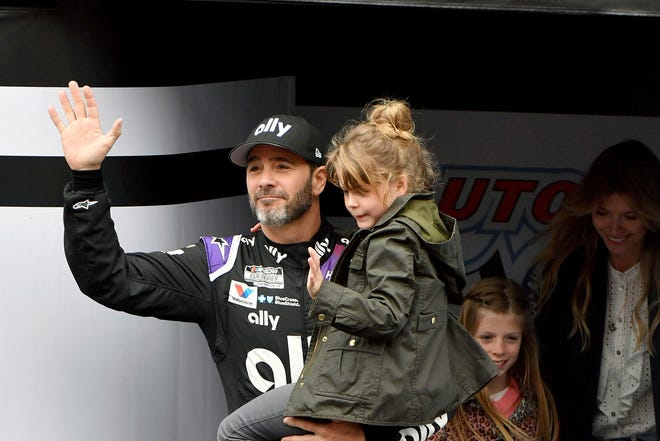 This year has hardly been the farewell tour Jimmie Johnson envisioned when he said 2020 would be his final season of full-time NASCAR racing. The seven-time champion has had to say his goodbyes at empty race tracks absent of all fanfare and now his streak of 663 consecutive races has ended because Johnson tested positive for the coronavirus. WILL LESTER/AP