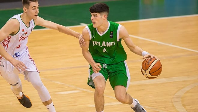 Darragh O'Sullivan, of Ireland, signed with the Florida Tech men's basketball team Tuesday, July 7, 2020.