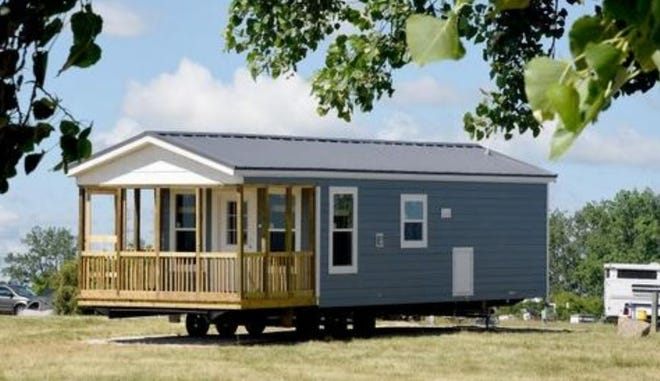RRM, a private operator and DNR partner, has installed 10 new cottages along Lake Erie waterfront at Sterling State Park in Monroe.