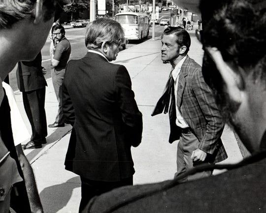 Donald Lobsinger on September 27, 1974.