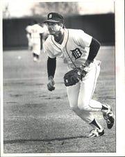 Tigers' Richie Hebner.