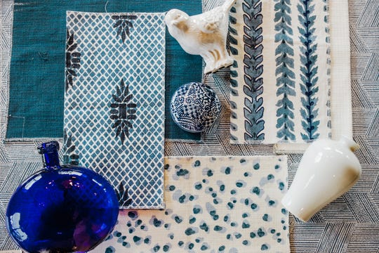 Blue and white is a classic and timeless combination, but that doesn't mean that there aren't new patterns and textures to explore.