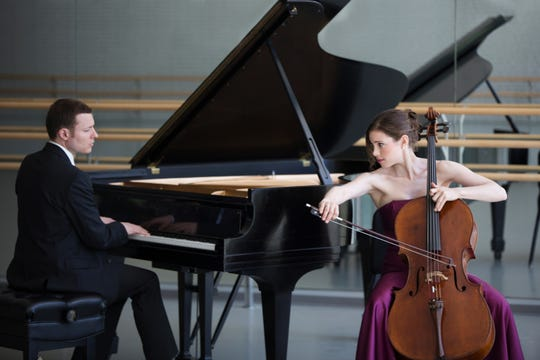 Julia Bruskin and Aaron Wunsch