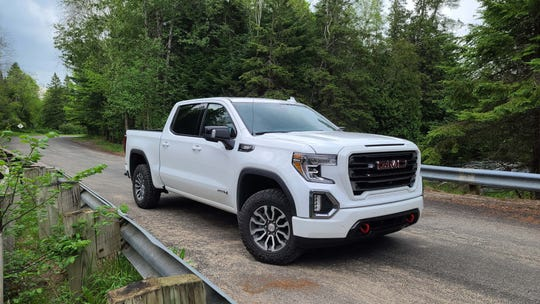 The 2020 GMC Sierra AT4 can be pricey at $83,000, but it comes loaded with content including diesel engine, 2-inch lift for off-roading and the Multipro tailgate.