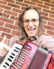 Mark Iannace, also known as Dr. Bellows, performs a virtual concert on Facebook live Sunday.