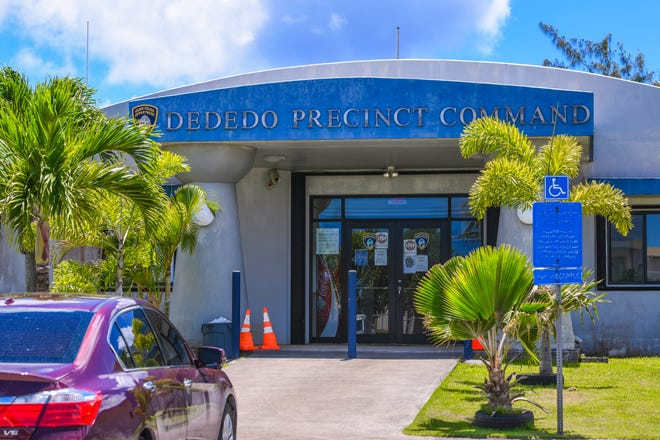 The Guam Police Depoartment's Dededo Precinct Command on Tuesday, July 7, 2020.