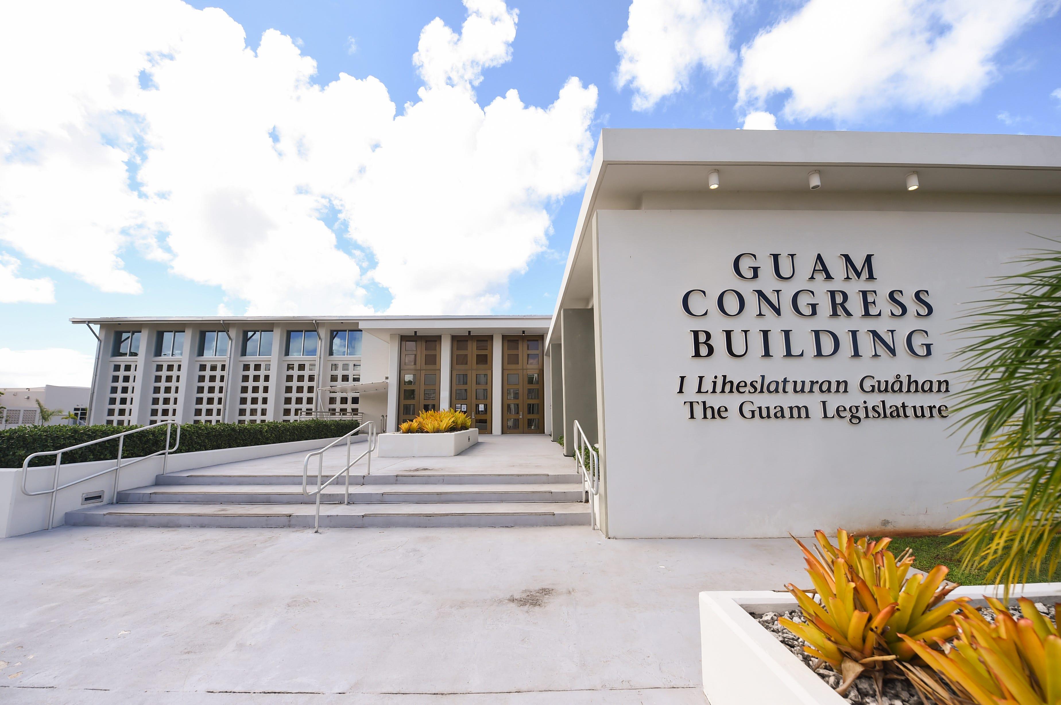 The Guam Congress Building in Hagåtña on July 7, 2020.