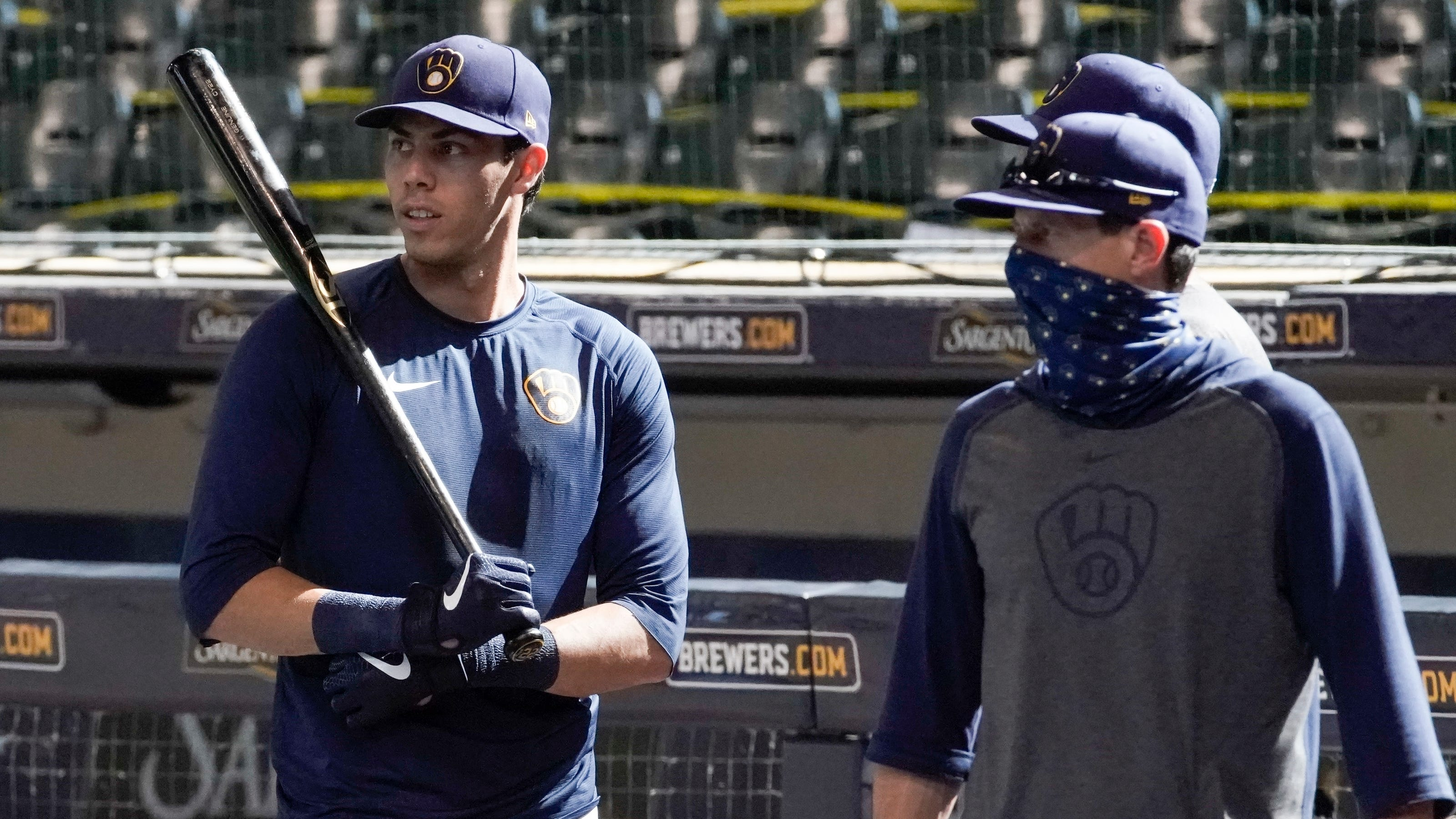 Craig Counsell talks about COVID-19 protocols and how that has changed baseball this year.