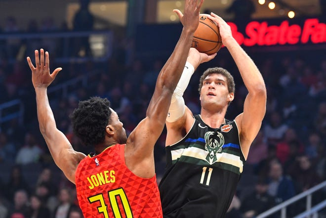 Bucks center Brook Lopez is excited to get to Orlando, adding that he feels comfortable how the team has handled everything despite having to shut down its practice facility due to a positive COVID-19 test.