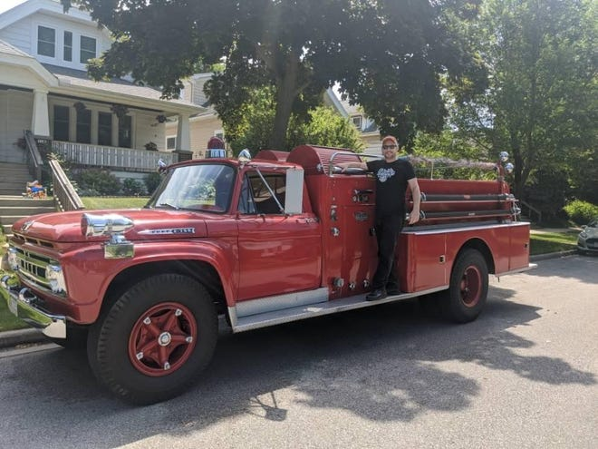 Violent Femmes drummer John Sparrow will join other local musicians in playing a concert on an old fire truck that will travel through Shorewood on Friday, July 17.