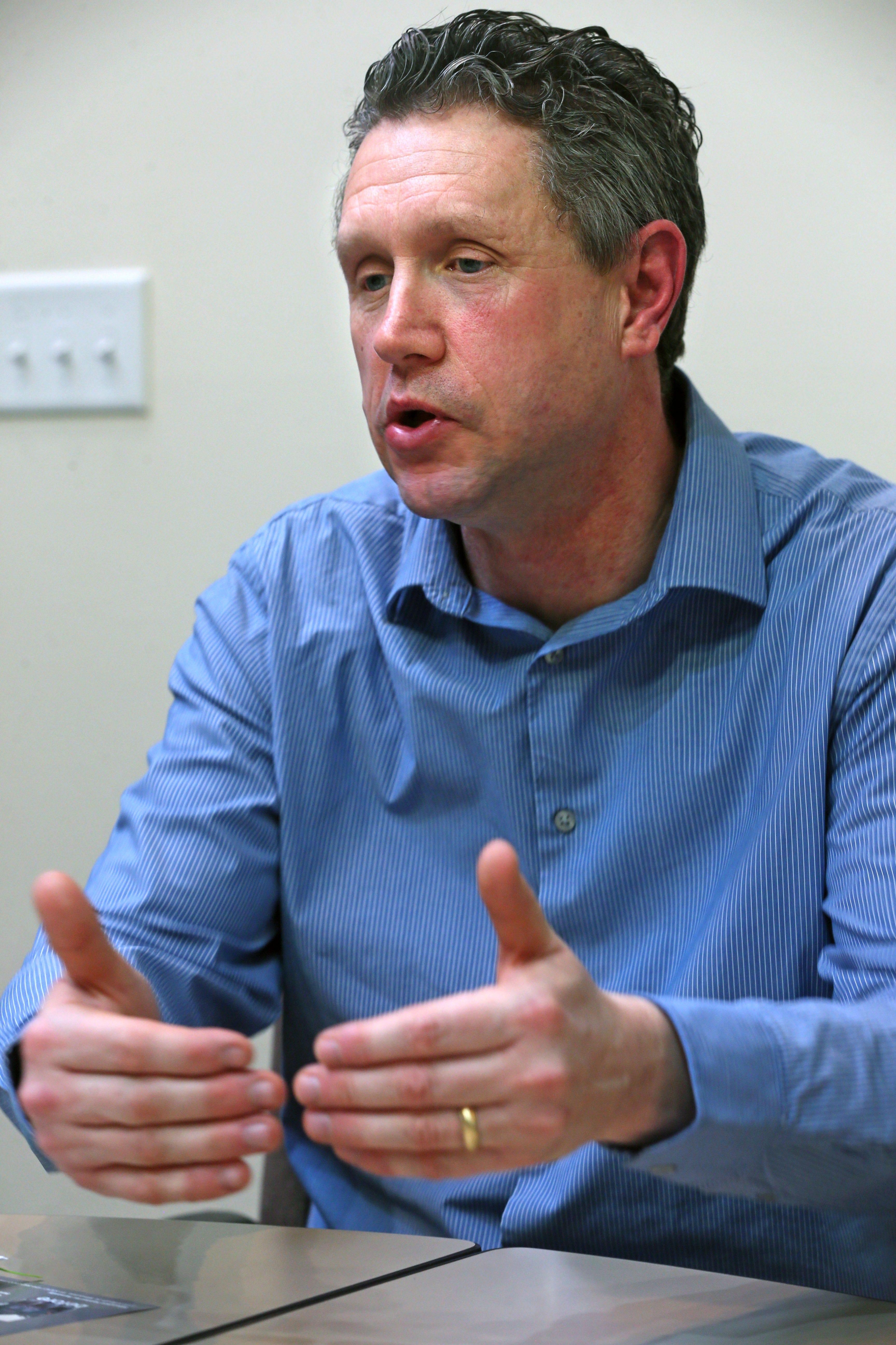 Brian Sonderman, executive director of Milwaukee Habitat for Humanity.