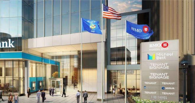 Concept image for the new Fiddleheads location in BMO Tower.